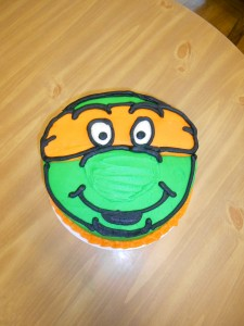 Ninja Turtle Birthday Cake!