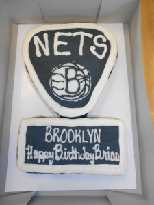Brooklyn Nets Birthday Cake!