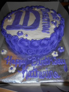 One Direction Birthday Cake!
