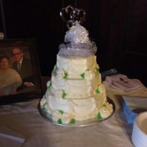 50th Wedding Anniversary Cake!