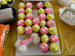 Dog Birthday Party Cupcakes! Bones!