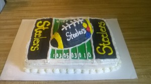 Steelers Birthday Cake!