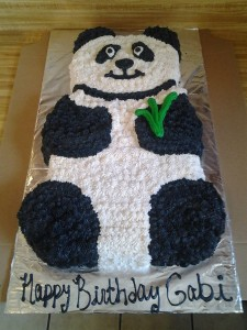 Panda Bear Birthday Cake!