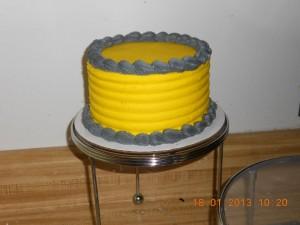 Double Layer Wedding Cake